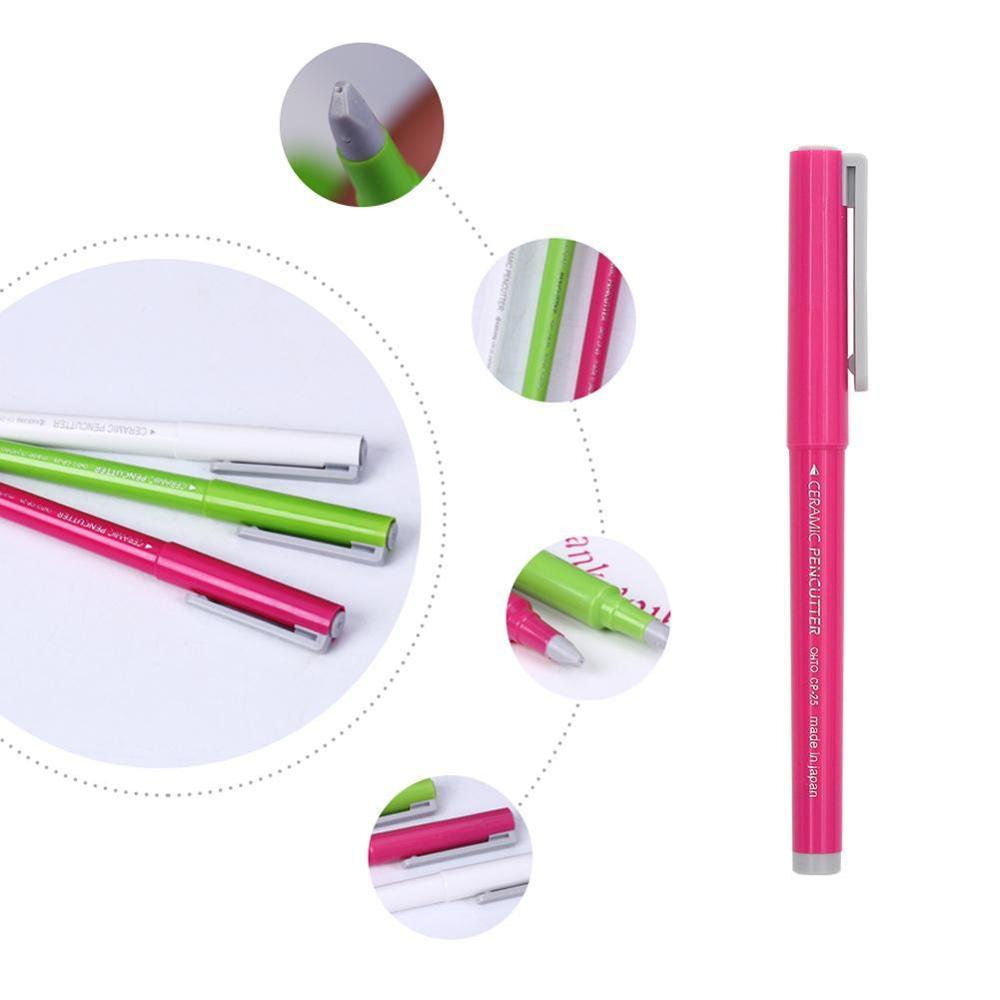New Ceramic Paper Pen Knife Wearable Durability Japan Notebook For Crafts Ceramic Cutting Paper Diy Creative Pen O4N4