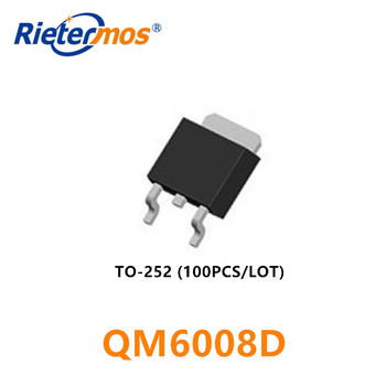 The new NCE6050KA NCE6050 TO252 patch MOS FET 60V50A