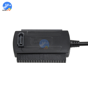 Image 5 - SATA PATA IDE to USB 2.0 Adapter Date Cable for 2.5/3.5 Hard Disk Drive DVD Converter Cable Line