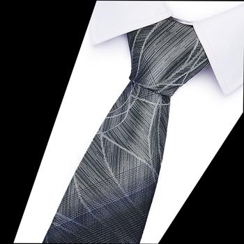 Męskie krawaty 6cm obcisłe krawaty w paski poliestrowe krawaty męskie moda żakardowa biznesowa męska suknia ślubna luksusowa szczupła muszka tanie i dobre opinie Joy Alice Nowość SILK Dla dorosłych Szyi krawat Jeden rozmiar 202091-OAS129 GEOMETRIC 59 06 (145cm) in length and 2 36 (6cm) in Width