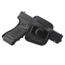 Military Tactical Leather Pistol Holster Durable Hunting Belt Gun for Glock  Beretta Airsoft Rifle Accessories