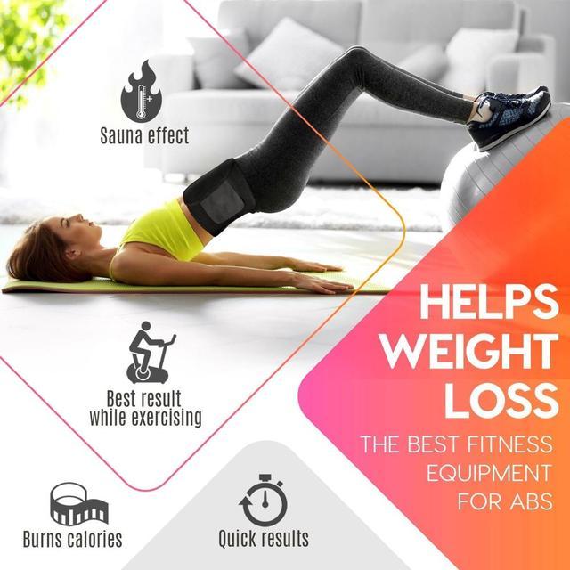 Sweat Belt Marvellous Waist Trimmer Fitness Centre Sport Goods Polyester Fiber Black Climbing Gym Sport Belt Yoga Outdoor