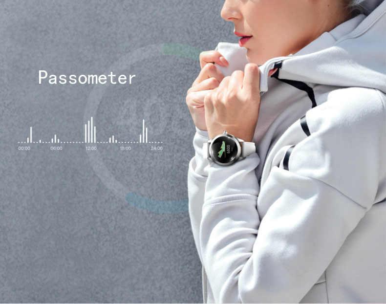 KW10 女性スマート腕時計女性フィットネスブレスレットスマートウォッチ時計 IP68 防水心拍数モニターアンドロイド Ios スポーツトラッカー