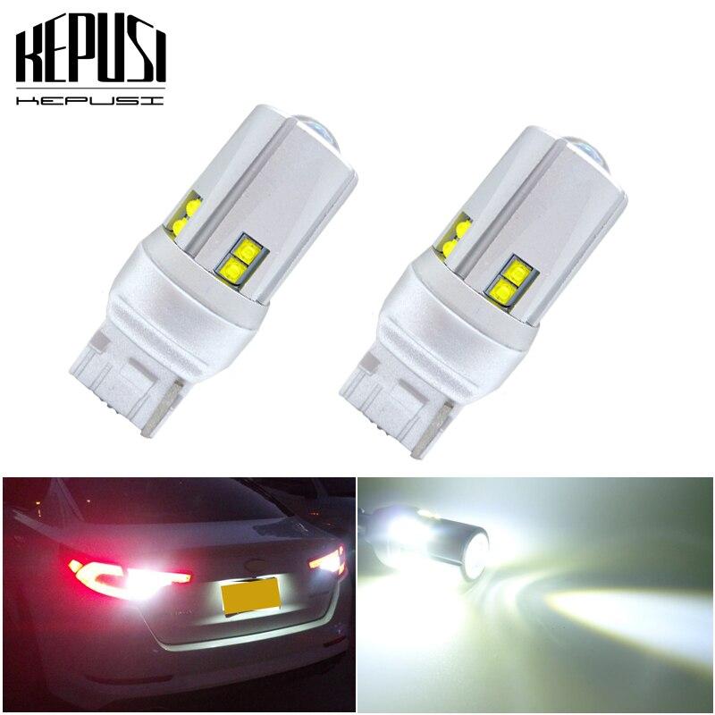 T10 T15 T20 7440 7443 72W LED Light Tail Reverse Backup Turn Signal Bulb Lamps