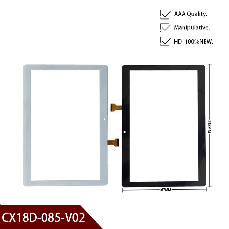 Free Shipping Suitable For 10.1 Inch Original Tablet Touch Screen CX18D-085-V02 Digital Maintenance And Replacement Of Sensor