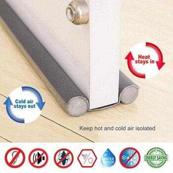 Home 93cm Under Door Draft Guard Stopper Soundproof Reduce Noise Door Bottom Sealing Weather Strip Under Door Draft Guard 2021