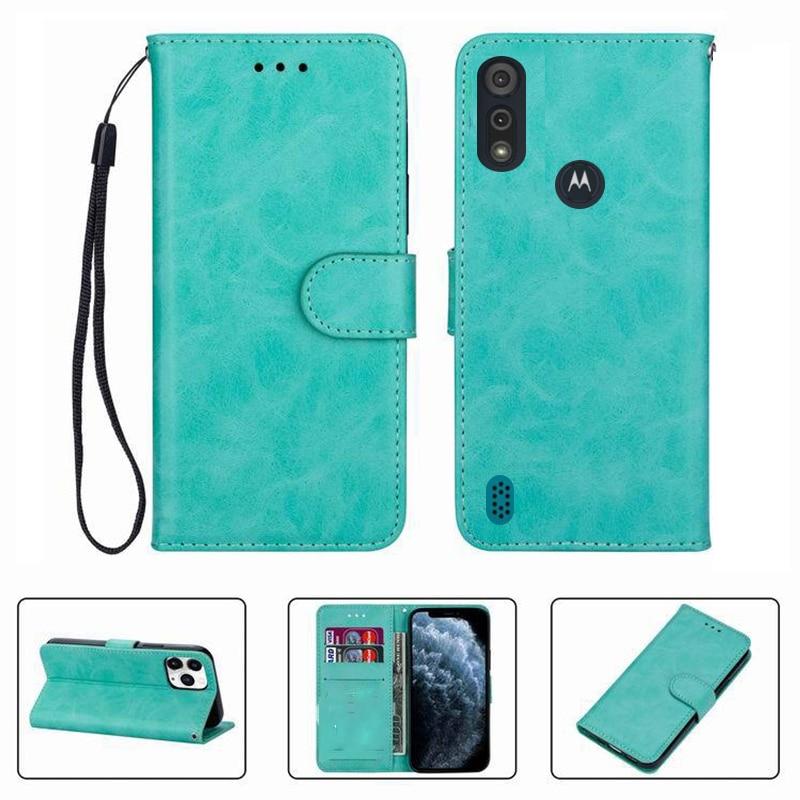 Для Motorola Moto E6i E6s 2020 XT2053-5 E6s2020 6,1 Чехол-портмоне с откидной Чехол Высокое качество Флип кожаный чехол для телефона, защитный чехол Funda