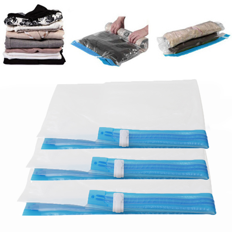 Hand Rolling Type Vacuum Compressed Bags Travel Bags Clothing Seal Compressed Organizer