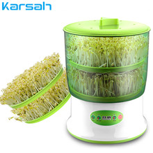 Portable Home Use Intelligence Bean Sprouts Machine Thermostat Green Seeds Growing Automatic Bean Sprout Machine Large Capacity free shipping multi function bean sprouts machine automatic household intelligent bean sprouts machine bean tooth machine