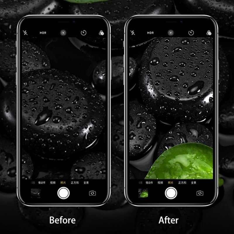 Screenprotector Für iPhone XR X XS MAX 8 7 6s Plus Kamera Objektiv Protector Ring Gehärtetem Glas Anti- scratch Lente Schutz Glas