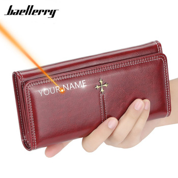 2020 New Long Women Wallets Fashion Card Holder Top Quality Sequined Female Purse PU Leather Zipper Brand Wallet For Women