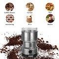TTLIFE Кофе шлифовальный станок Электрический мини Кофе фасоли гайка кофемолка  кофейные зерна многофункциональный домашний кофе-машина Кухн...