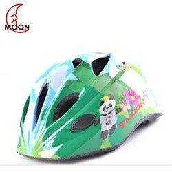 Księżyc kask dla dzieci kwiat motyl kreskówki rowerów deskorolka kask do jazdy na rowerze na świeżym powietrzu Cartoon drukowanie kask ochronny