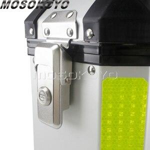 Image 5 - Sidecases universales de 36L para motocicleta, caja con estante y caja superior de almacenamiento de carga de 45L para BMW, Yamaha, Suzuki, Honda, NC700X, NC750X