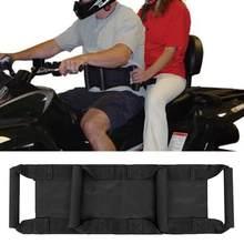Crianças das crianças de alta resistência da bicicleta motocicleta scooters correia segurança cinto cinto de passageiro arnês ajustável peças do motor