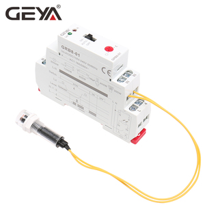 Image 3 - Ücretsiz kargo GEYA GRB8 01 alacakaranlık anahtarı sensörü ile AC110V 240V fotoelektrik zamanlayıcı ışık sensörü röle