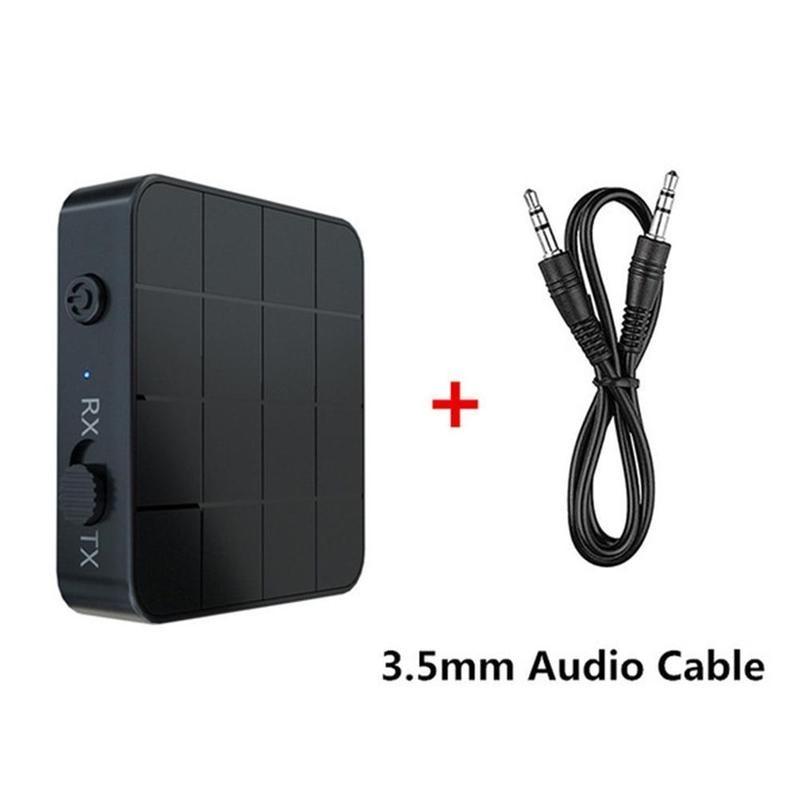 KN321 BT 5.0 Audio récepteur émetteur AUX RCA 3.5MM 3.5 Jack USB musique stéréo sans fil adaptateurs Dongle pour voiture TV PC haut-parleur