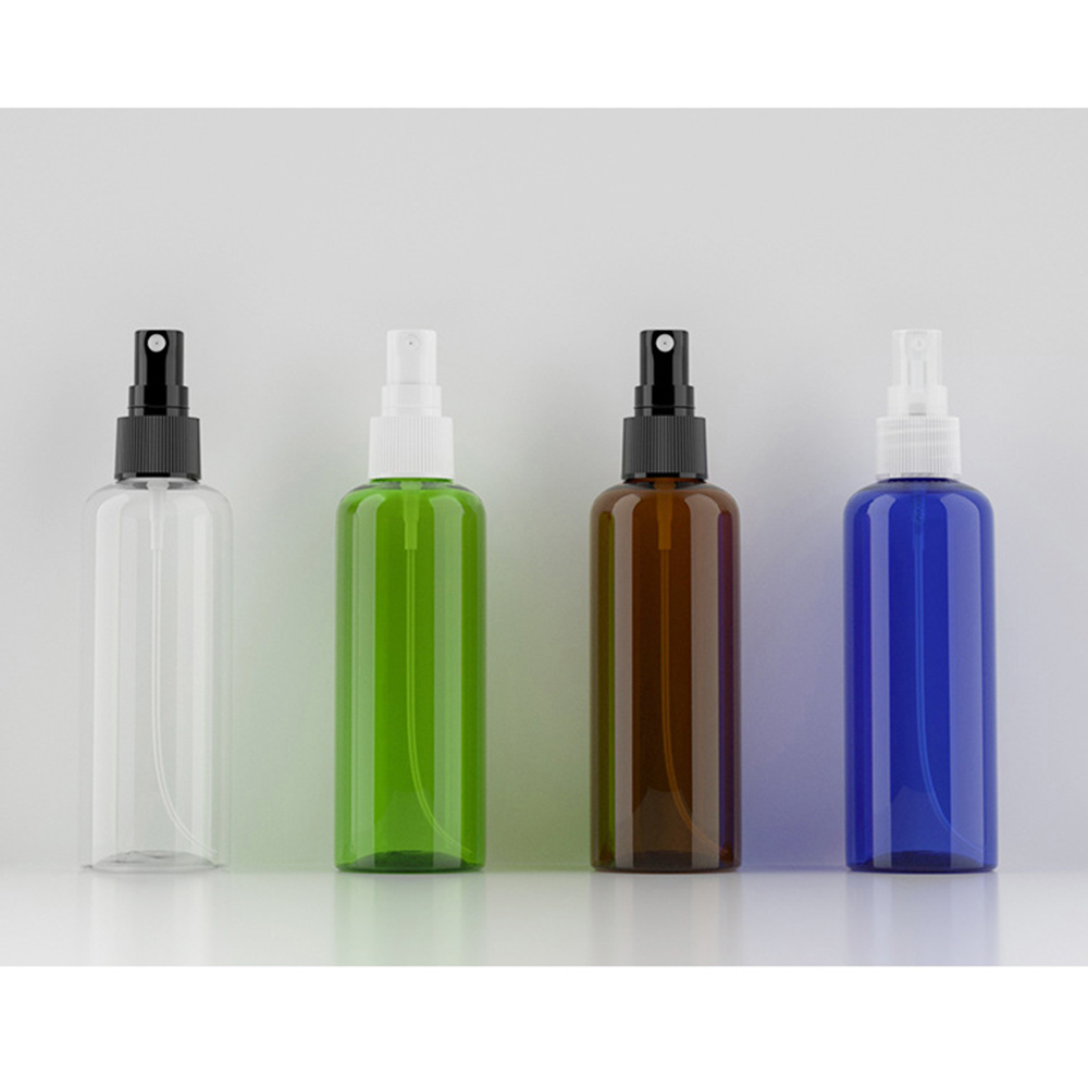 1pc 100mL Travel Refillable Bottles Clear Plastic Perfume Atomizer Empty Spray Bottle Makeup Bottle Wholesale Available
