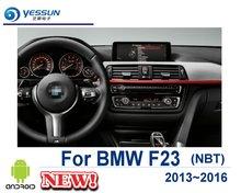Para BMW Serie 2 F23 2013 2014 2015 2016 NBT navegación Android para coche GPS pantalla táctil HD reproductor Multimedia estéreo Radio