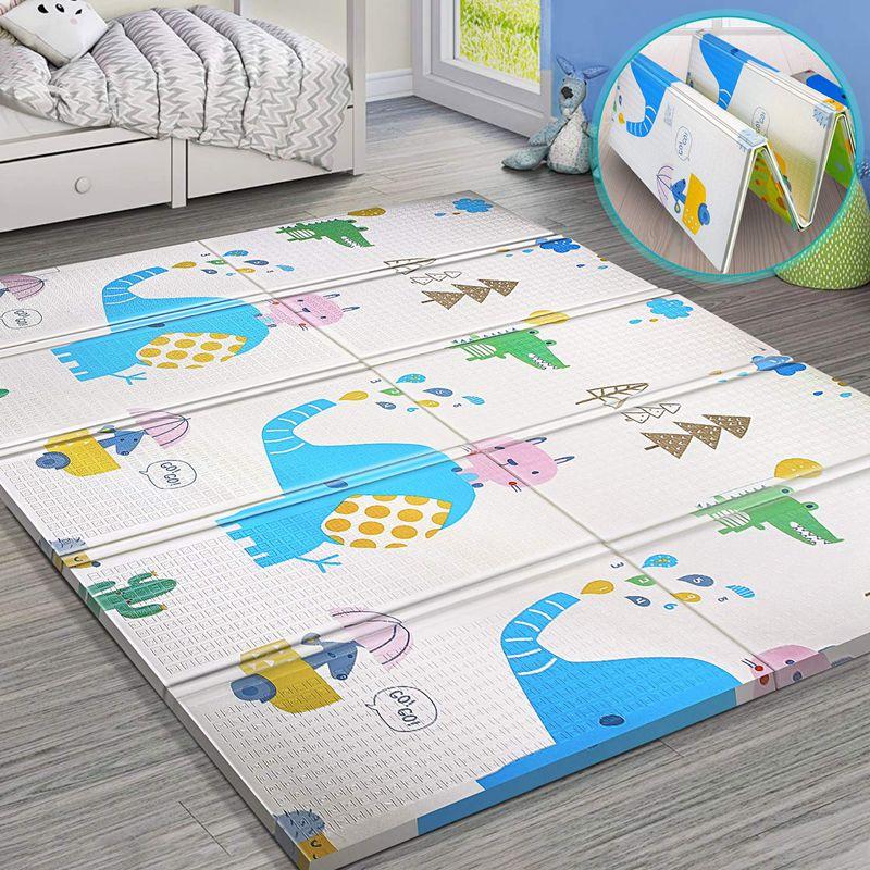 Игровой коврик для детей, коврик для ползания, коврик-пазл Xpe, детский коврик, коврик для детской комнаты, коврик для ползания, складной коври...