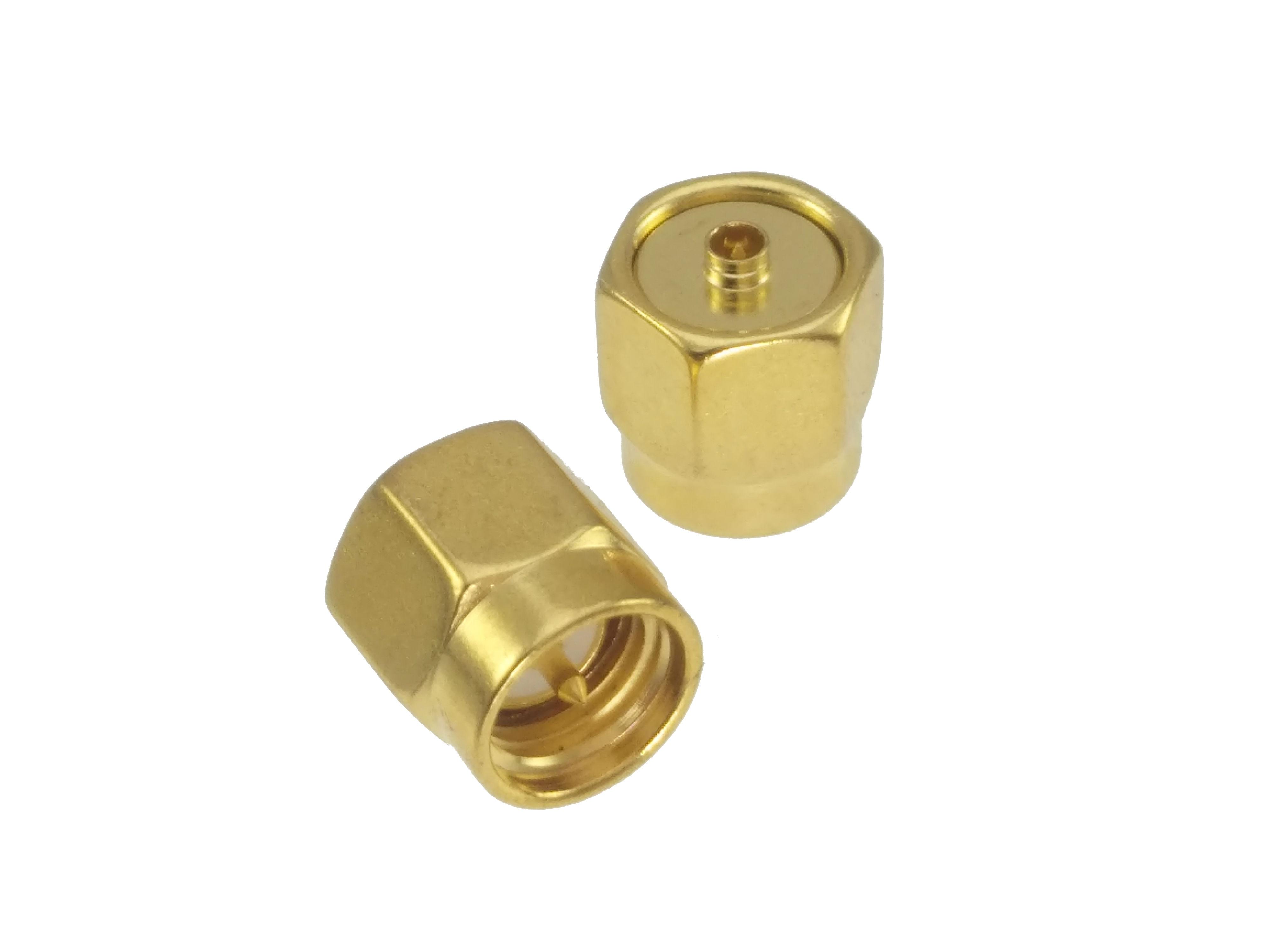 Adapter SMA Male To IPX U.fl Male Plug RF Connector Straight