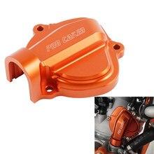 Copertura di controllo dello scarico del motociclo di CNC anodizzata per KTM 250 300 XC SX XC-W EXC sei giorni TPI 2009-2021 accessori del motore della motocicletta