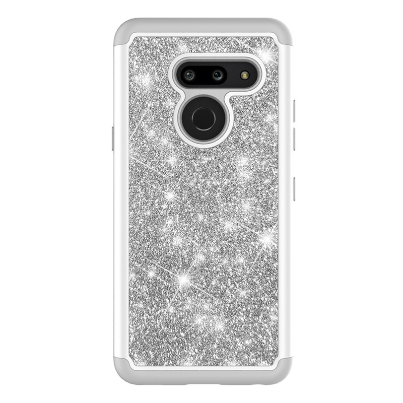 Shining Glitter Bling Candy Color Case For LG K30 2019 K40 K12 Plus V40 G7 G8 Thinq Q7 Plus Phone Cases Back Cover Fundas Coque