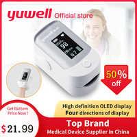 Yuwell YX305/YX301/YX100 Portable pouls doigt SPO2 PR moniteur oxymètre sang oxygène Saturation santé LED affichage du bout des doigts