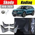Автомобильные аксессуары для skoda kodiaq 2018-2020, брызговики, брызговики, щитки от грязи, передние и задние щитки от грязи