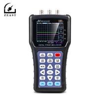 Portable Handheld Oscilloscope JDS6052S Digital Storagesignal Function Generator 20MHz Oscilloscope AC/DC Input Coupling
