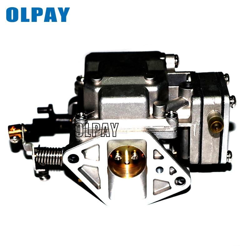 Boat Engine Carburetor For Yamaha 2 Stroke 9.9HP 15HP Outboard Motors 63V-14301-00 63V-14301-10