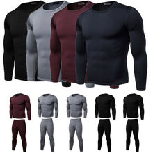 New Mens Tactical Winter Warm Fleece Underwear Thermal Under clothes Sports Outdoor