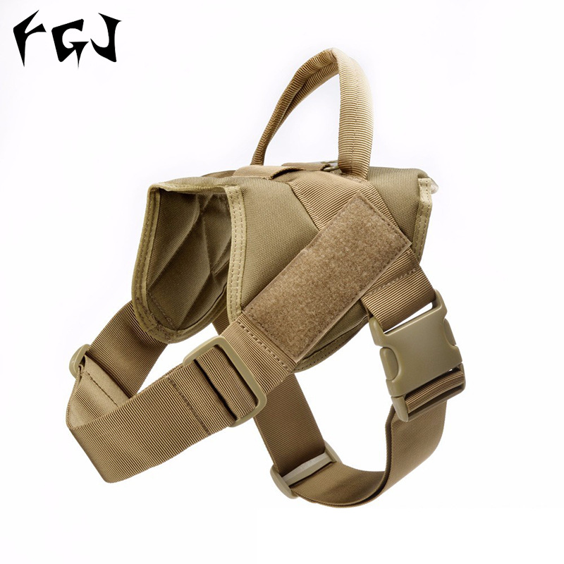 Tactical Training Dogs Waistcoat Light Patrol Dog Clothes Spring And Summer Dog Vest K9 Harness Tactical Dog Clothes