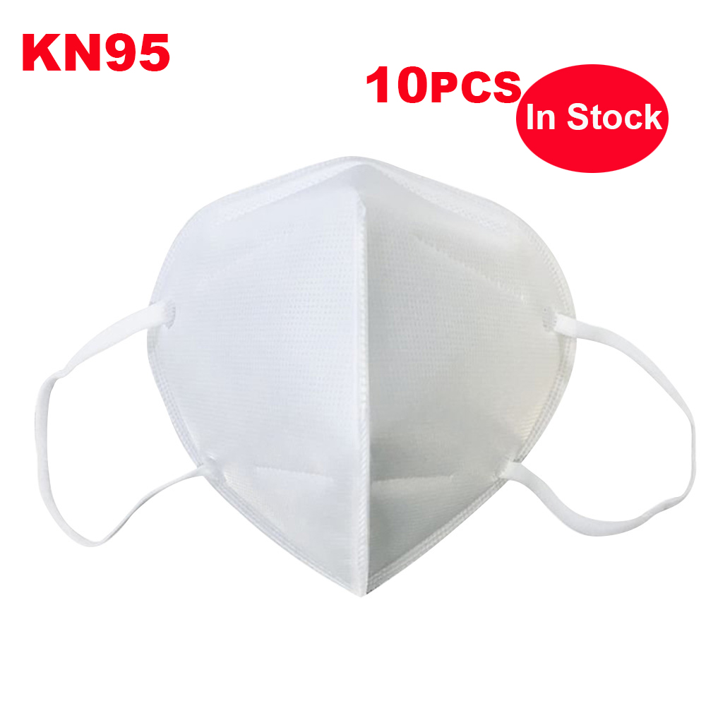 10 Pcs In Stock KN95 N95 Anti Infection Particulate Disposable Mask Anti-fog PM2.5 Dustproof Protective Mask Safety Mascherina