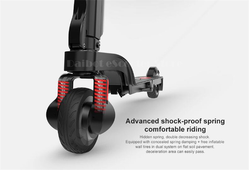 HX X6 Folding Electric Scooter Two Wheel Electric Scooters Mini Protable Backpack E-Scooter Electric Bike Ebike                  (26)