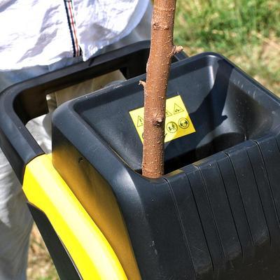 Большая мощность 2500 Вт садовый измельчитель/Измельчитель дерева с кабелем питания 10 м Высокое качество