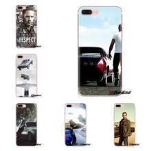 Zachte Transparante Gevallen Covers Snelle en Furious Paul Walker Voor iPod Touch Apple iPhone 4 4S 5 5S SE 5C 6 6S 7 8 X XR XS Plus MAX(China)