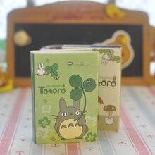 Kawaii mój sąsiad Totoro japońskie Anime notatnik kartki samoprzylepne Do zrobienia List naklejki Do planowania śliczne papiernicze artykuły szkolne