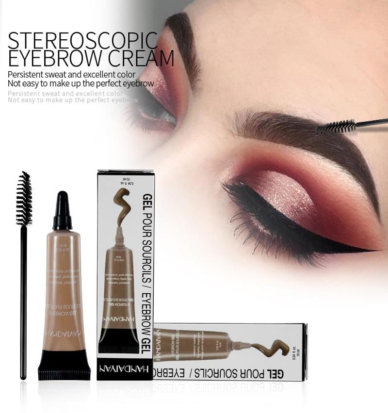 Eyebrow Cream Gel Makeup Eyebrow Tattoo Pen Tint Long Lasting Waterproof Henna Eyebrow Gel Cejas Maquillaje