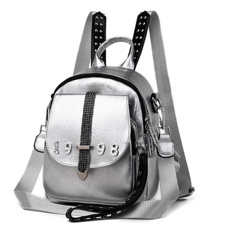 Stylish Women PU Leather Cute Mini Messenger Shoulder Bags Feminine Female Party Shopping Backpack Crossbody Bags