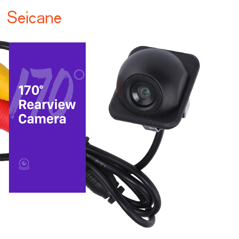 Seicane Hi-definition Color 170 Degree CCD HD Backup With Waterproof Night Vision Reversing Camera Car Parking Assistance system