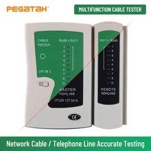RJ45 Cable lan tester Network cable tester 468 RJ45 RJ11 lan tester dual-use cable testing line Networking tool Line finder