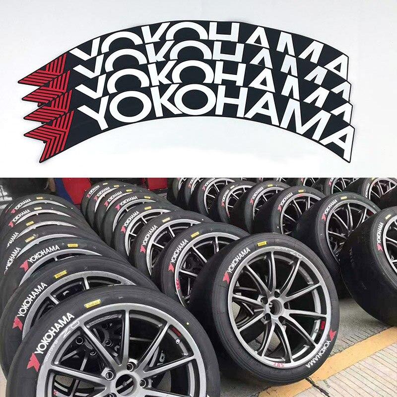 Резиновые буквы, наклейка на шину, универсальная наклейка на колесо автомобильной шины, 3D логотип, наклейка на автомобильные мотоциклетные ...