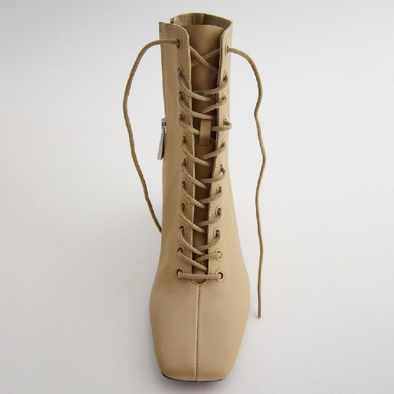 Katelvadi новые домашние тапочки из натуральной кожи ботинки