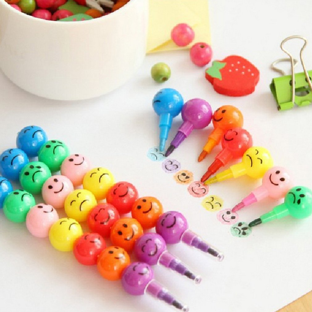Natural Non-Toxic Children Kids Crayon Oil Pastel Drawing Set School Office Safe Wax Crayon Pen Stationery Student Gift Dropship