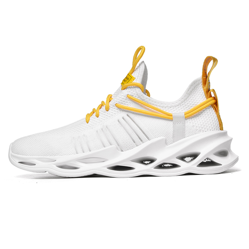 G157 White-Couples Sneakers Casual Breathable Comfortable Sport Running Shoes