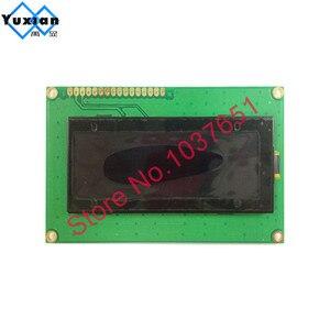 Image 3 - 20x4 2004 oled ekran rus avrupa İngilizce japon yazı SPI IIC I2C 98*60mm modülü 3.3v 5v sarı beyaz 16pin LEC2041