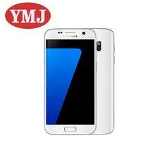 Original samsung galaxy s7 g930f g930v g930p telefone celular 5.1 polegada 4gb ram 32gb rom 4g lte nfc gps 12mp desbloqueado usado telefone celular