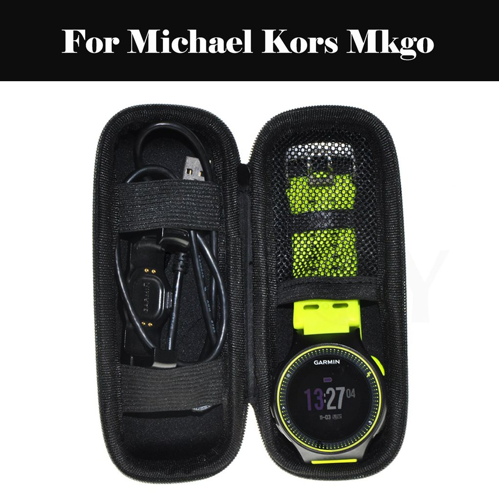 Portable Hard Shell Case Water-resistent EVA Carrying Smartwatch Storage Bag For Michael Kors Mkgo