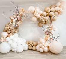 138pcs DIY Balloon Garland Arch Kit Balloon Birthday Party Wedding Latex White Retro Skin Baby Shower Background Decoration Balo